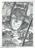 Original Comic Art:Covers, Bernie Wrightson - Original Unused Cover Art Rough to Batman: TheCult #4 (DC, 1988). Considered by many to be the natural s...
