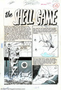 "Original Comic Art:Complete Story, Al Williamson and Angelo Torres - Original Art for Piracy #2,Complete 6-Page Story, ""The Shell Game"" (EC, 1955). This story..."