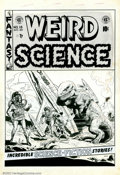 Original Comic Art:Covers, Wally Wood - Original Cover Art to Weird Science #15 (EC, 1952). Asif there were any doubt, this classic and spectacular co...