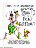 Original Comic Art:Covers, Don Martin - Original Cover Art for The Completely Mad Don Martin (Warner Books, 1982). One of the most recognizable artists...