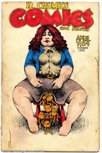 Robert Crumb - Original Art for R. Crumb's Comics and Stories #1, complete 10-Page Story plus cover, First Drawn Story o...