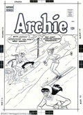 Original Comic Art:Covers, Dan DeCarlo (attributed to) - Original Art to Archie Cover (MLJ,1960s). Who knew that it was Archie and Jughead that inspir...