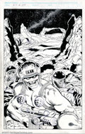 Original Comic Art:Covers, Jim Fern and Mark McKenna - Original Cover Art for Rogue Trooper#29 (Fleetway Comics, 1988). Betrayed by his superiors, the...