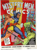 Original Comic Art:Covers, Joe Simon - Original Art Cover Recreation for Mystery Men Comics#11 (undated). One of the best-known names in the field, Jo...