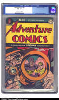 Golden Age (1938-1955):Superhero, Adventure Comics #94 (DC, 1944) CGC NM+ 9.6 Off-white to white pages. A fantastic Simon/Kirby cover and its ultra-high-grade...