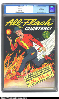 All-Flash #1 Denver pedigree (DC, 1941) CGC NM 9.4 Off-white pages. There are copies of All-Flash #1, and then there are...