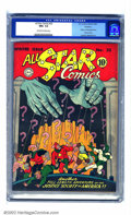Golden Age (1938-1955):Superhero, All Star Comics #23 Rockford pedigree (DC, 1944) CGC NM+ 9.6 Off-white to white pages. Joe Gallagher is to thank for this op...