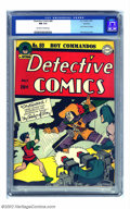 Golden Age (1938-1955):Superhero, Detective Comics #89 Rockford pedigree (DC, 1944) CGC NM 9.4 Off-white to white pages. This issue features the second appear...
