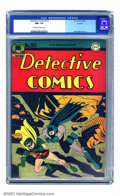 Golden Age (1938-1955):Superhero, Detective Comics #103 Rockford pedigree (DC, 1945) CGC NM+ 9.6 Off-white to white pages. The amazing condition of this book ...