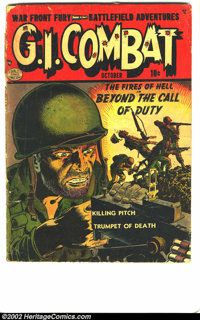 G.I. Combat Lot (Quality & DC, 1952). This lot consists of 118 issues from the G.I. Combat run, 17 of which were pub...