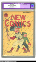 Golden Age (1938-1955):Humor, New Comics #4 (DC, 1936) CGC Apparent FN 6.0 Slight (P) Off-white to white pages. One of the first comic book titles, and DC...