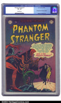 "Golden Age (1938-1955):Horror, The Phantom Stranger #1 (DC, 1952) CGC VG- 3.5 Off-white pages.Designated ""scarce"" by Overstreet, this in-demand issue feat..."