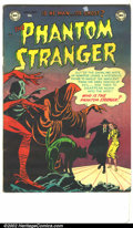 Golden Age (1938-1955):Horror, The Phantom Stranger #1 (DC, 1952) Condition: VG+. The short-run DCtitles from this era are considered by many to be the ho...