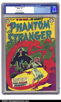 Golden Age (1938-1955):Horror, The Phantom Stranger #2 (DC, 1952) CGC FN/VF 7.0 Cream to off-whitepages. Another scarce issue of this short run, this soli...