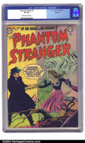 Golden Age (1938-1955):Horror, The Phantom Stranger #3 Bethlehem pedigree (DC, 1953) CGC VF 8.0Off-white to white pages. Not only a high-grade pedigree, b...