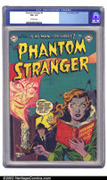 Golden Age (1938-1955):Horror, The Phantom Stranger #4 (DC, 1953) CGC FN+ 6.5 Off-white pages.Another cool pre-code horror cover graces this scarce issue ...