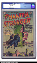 Golden Age (1938-1955):Horror, The Phantom Stranger #6 (DC, 1953) CGC VF- 7.5 Off-white to whitepages. This has to be the weirdest cover of this title's r...