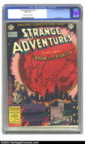 Golden Age (1938-1955):Science Fiction, Strange Adventures #2 (DC, 1950) CGC VF+ 8.5 Off-white to whitepages. If you think that the cover on this early Fifties DC ...