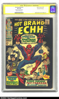 Silver Age (1956-1969):Humor, Not Brand Echh #2 Stan Lee File Copy (Marvel, 1967) CGC VG 4.0 Cream to off-white pages. The second issue of this Marvel sla...
