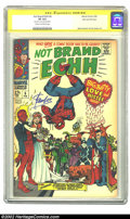 Silver Age (1956-1969):Humor, Not Brand Echh #6 Stan Lee File Copy (Marvel, 1968) CGC VF 8.0 Cream to off-white pages. Non-stop antics from cover to cover...