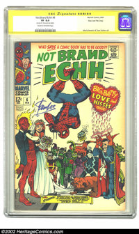 Not Brand Echh #6 Stan Lee File Copy (Marvel, 1968) CGC VF 8.0 Cream to off-white pages. Non-stop antics from cover to c...