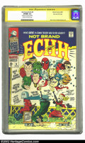 Silver Age (1956-1969):Humor, Not Brand Echh #9 Stan Lee File Copy (Marvel, 1968) CGC VF/NM 9.0 Cream to off-white pages. With Boney and Clause hitting th...
