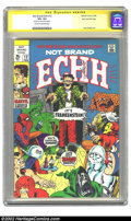 Silver Age (1956-1969):Humor, Not Brand Echh #12 Stan Lee File Copy (Marvel, 1969) CGC VF+ 8.5 Cream to off-white pages. Who causes fear in the hearts of ...