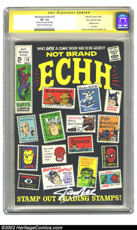 Not Brand Echh #13 Stan Lee File Copy (Marvel, 1969) CGC VF- 7.5 Cream to off-white pages. Well, it finally happened. Th...