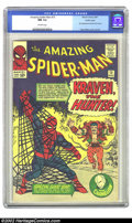 Silver Age (1956-1969):Superhero, The Amazing Spider-Man #15 Pacific Coast pedigree (Marvel, 1964)CGC NM 9.4 Off-white pages. Only two copies of this early ...