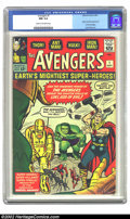 Silver Age (1956-1969):Superhero, The Avengers #1 (Marvel, 1963) CGC NM 9.4 Cream to off-white pages. This incredible comic is the highest CGC-graded copy to ...