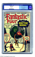 Silver Age (1956-1969):Superhero, Fantastic Four #5 (Marvel, 1962) CGC VF+ 8.5 Off-white pages. Theseearly issues seem to be becoming even more popular than ...