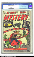 Silver Age (1956-1969):Superhero, Journey into Mystery #83 (Marvel, 1962) CGC VF- 7.5 White pages.This classic issue features the origin and first appearance...