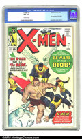 Silver Age (1956-1969):Superhero, X-Men #3 (Marvel, 1964) CGC NM 9.4 Off-white pages. This is one of the highest CGC-graded copies in existence. It has an eye...