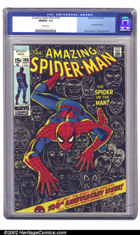 The Amazing Spider-Man #100 (Marvel, 1971) CGC NM/MT 9.8 White pages. Here is a book that is really special, and will su...