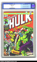 Bronze Age (1970-1979):Superhero, The Incredible Hulk #181 (Marvel, 1974) CGC VF+ 8.5 White pages. What can be said about this book that hasn't already been s...