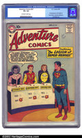 Adventure Comics #247 (DC, 1958) CGC VF+ 8.5 Off-white to white pages. The Legion of Super-Heroes make their first appea...