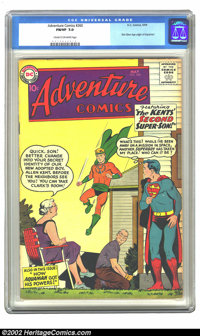 Adventure Comics #260 (DC, 1959) CGC FN/VF 7.0 Cream to off-white pages. Curt Swan creates a homey Smallville cover, one...