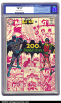 Silver Age (1956-1969):Superhero, Batman #200 (DC, 1968) CGC NM 9.4 Off-white to white pages. Neal Adams is responsible for this distinctive milestone cover o...