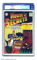 Silver Age (1956-1969):Horror, House of Secrets #2 (DC, 1957) CGC VF 8.0 Off-white to white pages.Second issue of DC's long-running horror title, this fea...