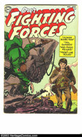 Golden Age (1938-1955):War, Our Fighting Forces 1-141 almost complete set (DC, 1954). Most of the big-name artists that are associated with DC war comic... (Total: 139 Comic Books Item)