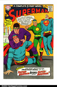 Superman Group (DC 1967-72 ). Very large lot of issues #199-250, which includes the Superman/Flash race issue (#199), th...