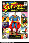 Golden Age (1938-1955):Superhero, Superman Annuals Lot (DC 1960-86). Complete run of Annuals featuring the Man of Steel. #1 GD, tape on spine; #2 GD+, #3 VG/... (Total: 12 Item)