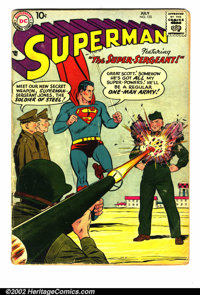 Superman Silver Age Lot (DC). Superman Silver Age Group (DC, 1957-64). Here is a large lot of 24 Silver Age Superman boo...