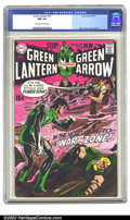 Bronze Age (1970-1979):Superhero, Green Lantern #77 (DC, 1970) CGC NM 9.4 Off-white to white pages. Neal Adams was breathing new life into a languishing title...