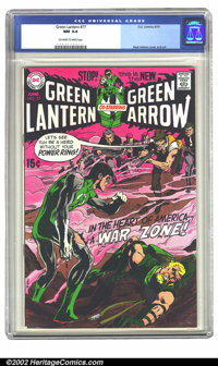 Green Lantern #77 (DC, 1970) CGC NM 9.4 Off-white to white pages. Neal Adams was breathing new life into a languishing t...