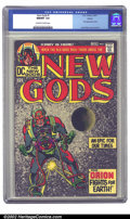 Bronze Age (1970-1979):Superhero, The New Gods #1 Boston pedigree (DC, 1971) CGC NM/MT 9.8 Off-white to white pages. This copy has been given the highest grad...