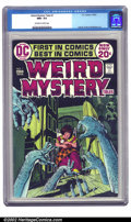 Bronze Age (1970-1979):Horror, Weird Mystery Tales #1 (DC, 1972) CGC NM+ 9.6 Off-white to whitepages. Striking Kaluta cover with interior contributions fr...