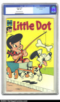 Silver Age (1956-1969):Humor, Little Dot #4 File copy (Harvey, 1954) CGC NM 9.4 Cream to off-white pages. This is the fourth appearance of both Little Dot...