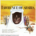 """Movie Posters:Drama, Lawrence of Arabia (Columbia, 1962). Roadshow Six Sheet (81"""" X 81""""). Although David Lean began his career as an editor in th..."""