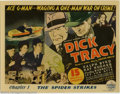 """Movie Posters:Serial, Dick Tracy (Republic, 1937). Title Lobby Card (11"""" X 14""""). RepublicStudios produced some of the best serials during the gen..."""